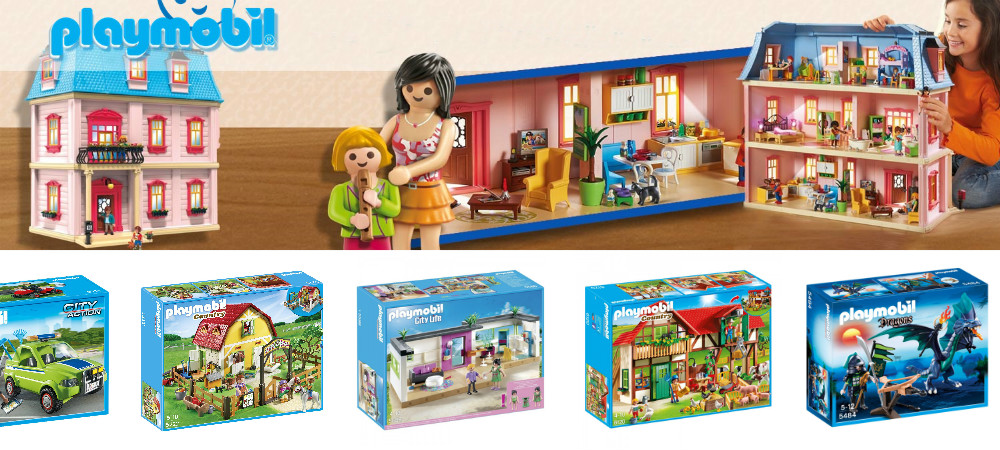 RESALE OPPORTUNITY→ PLAYMOBIL TOYS - brand new, liquidation stock