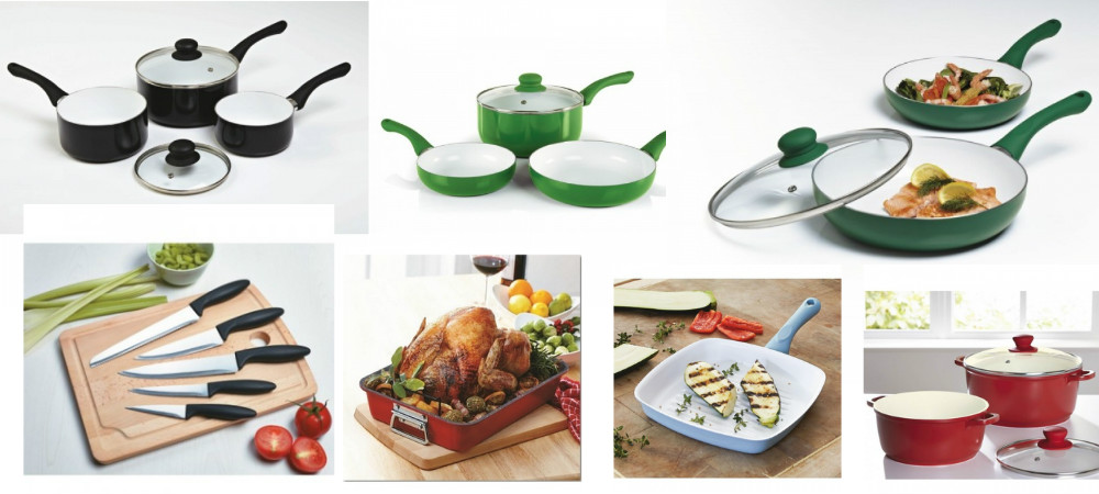 Looking for Cookware? This stock is perfect for you! Non-stick coated pots and pans