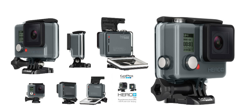 Only € 125/pc for GoPro Hero+ Action Camera, brand new