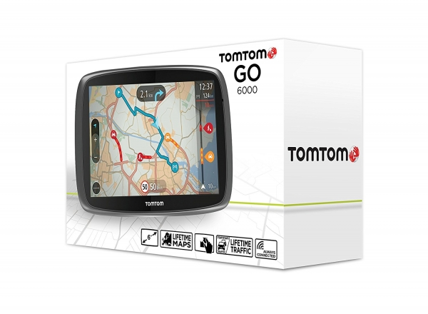 tomtom go 6000 6 inch sat nav brand new stock. Black Bedroom Furniture Sets. Home Design Ideas