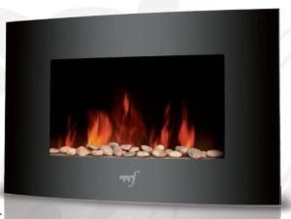 Melchioni Flame Freestanding Electric Fireplace Brand New Stock