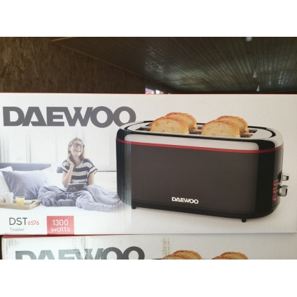 Daewoo Toaster DST-6576 - Brand New Stock