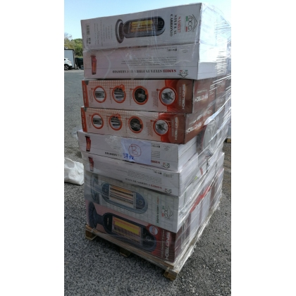 Heating products mixed lot - A, B and C Grade