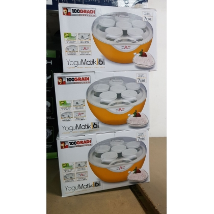 Yogumatic 100 Gradi / Yoghurt Maker - Brand New Stock