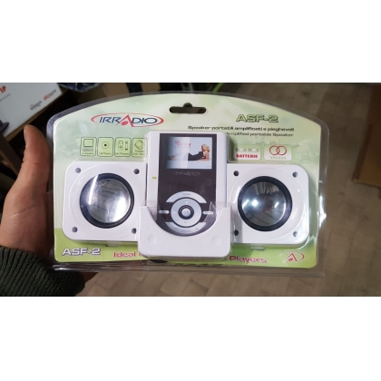 Portable and Foldable Speaker - Brand New Stock
