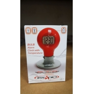 Electronic Bulb Table Clock - Brand New Stock