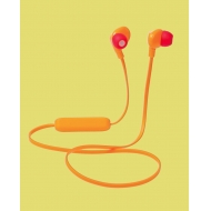 Sport Earphones Red & Orange - Brand New Stock