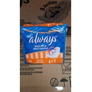 Always Absorbants - Brand New Stock