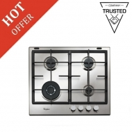 Whirlpool GMA6422 IXL Gas Hob - Brand New Stock