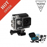 Kitvision Escape 5 HD Action Camera Black with Accessories - Brand New Stock