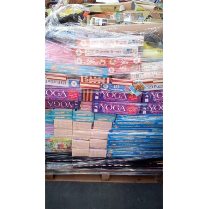 Toys and gifts pallets - Brand New Stock