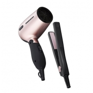 Daewoo Set of Hairdryer and Mini straightener - Brand New Stock
