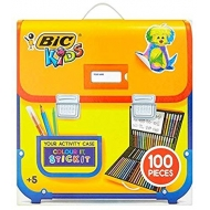 BIC Kids 100 Piece Colouring Pens and Sticker - Brand New Stock