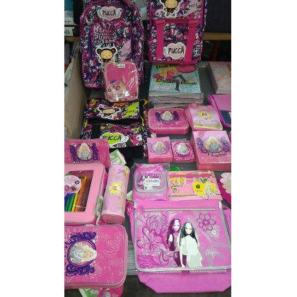 Barbie and Pucca Stationery Products - Brand New Stock