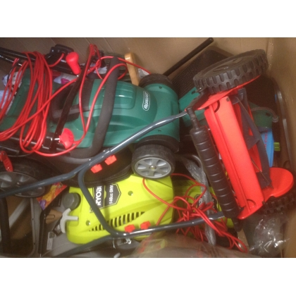 Power Tools and Gardening Items - Truck 659 - High Value Returns
