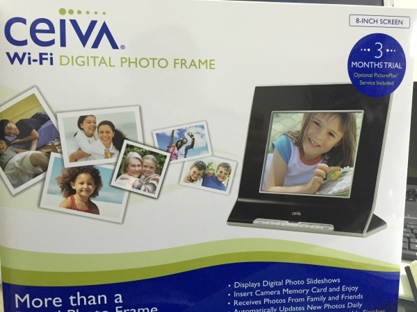ceiva digital photo frames brand new stock. Black Bedroom Furniture Sets. Home Design Ideas
