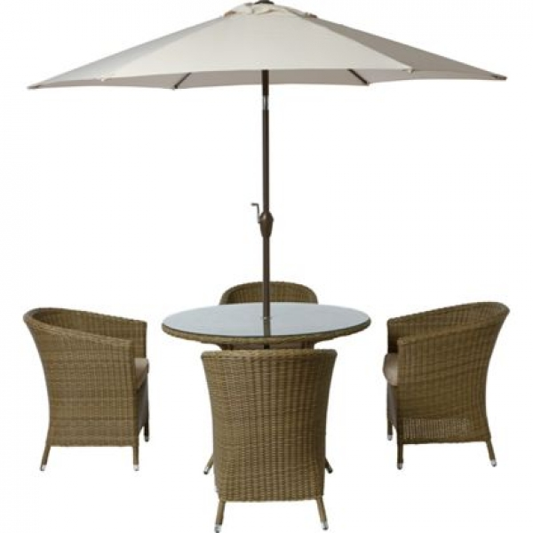 worcester 4 seater rattan effect garden furniture set brand new stock - Rattan Garden Furniture 4 Seater